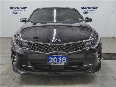 2016 Kia Optima SXL | TURBO | NAV | LEATHER | PUSH START | SUNROOF (Stk: P5296A) in Brantford - Image 2 of 41