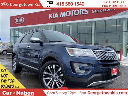 2016 Ford Explorer Platinum | PANO ROOF | NAVI | AWD | LEATHER |7PASS (Stk: P13105) in Georgetown - Image 1 of 39