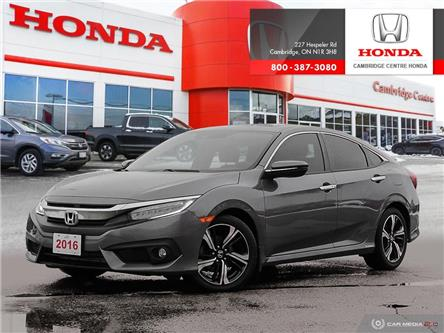 2016 Honda Civic Touring (Stk: 20487A) in Cambridge - Image 1 of 27