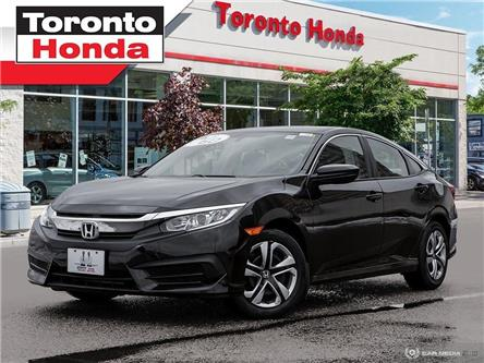 2017 Honda Civic Sedan LX (Stk: H40046A) in Toronto - Image 1 of 27