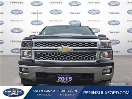 2015 Chevrolet Silverado 1500 LT (Stk: 19RA39A) in Owen Sound - Image 2 of 25