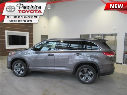 2018 Toyota Highlander Limited AWD (Stk: 18518) in Brandon - Image 1 of 25