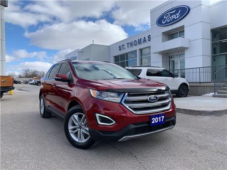 2017 Ford Edge SEL (Stk: S9145A) in St. Thomas - Image 1 of 26