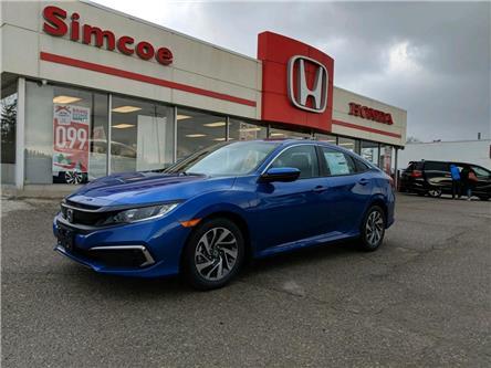 2020 Honda Civic EX (Stk: 2018) in Simcoe - Image 1 of 17