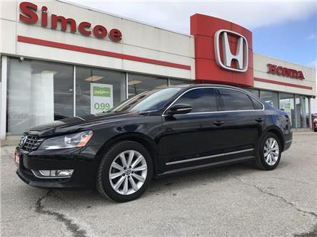 2012 Volkswagen Passat 2.5L Highline (Stk: SH163A) in Simcoe - Image 1 of 17