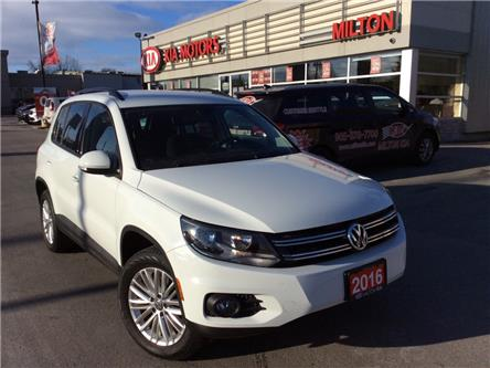 2016 Volkswagen Tiguan Special Edition (Stk: P0166) in Milton - Image 1 of 18