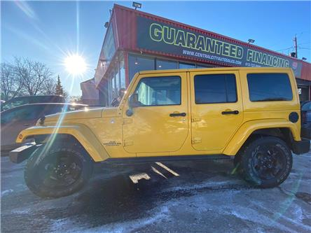2015 Jeep Wrangler Unlimited Sahara (Stk: 19893A) in Ottawa - Image 1 of 15