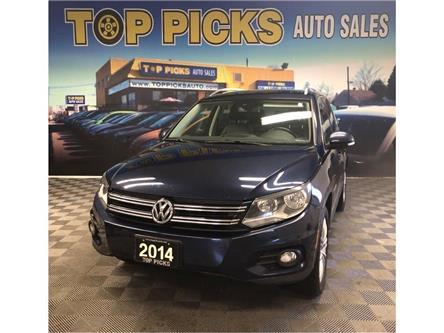 2014 Volkswagen Tiguan Trendline (Stk: 624823) in NORTH BAY - Image 1 of 27