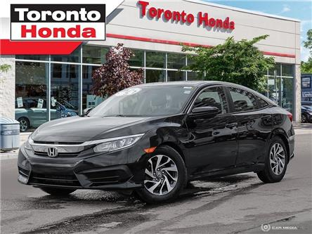 2016 Honda Civic Sedan EX (Stk: H40013A) in Toronto - Image 1 of 29