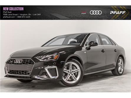 2020 Audi A4 2.0T Progressiv (Stk: T18082) in Vaughan - Image 1 of 22