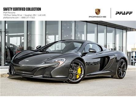 2015 McLaren 650S Spider (Stk: U7016) in Vaughan - Image 1 of 22