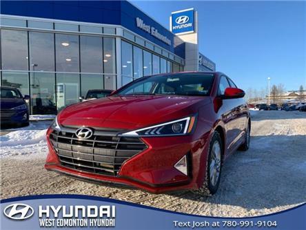 2019 Hyundai Elantra  (Stk: E4828) in Edmonton - Image 1 of 20
