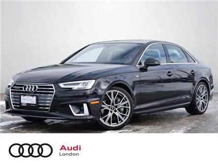 2019 Audi A4 45 Progressiv (Stk: 410730) in London - Image 1 of 27