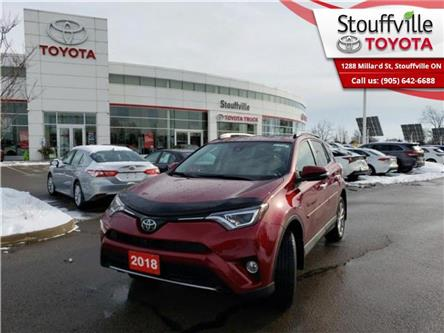2018 Toyota RAV4 AWD Limited (Stk: P2055) in Whitchurch-Stouffville - Image 1 of 17