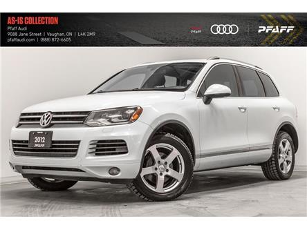 2012 Volkswagen Touareg 3.6L Highline (Stk: T17887A) in Woodbridge - Image 1 of 22