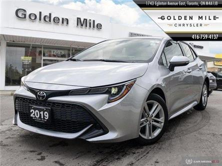2019 Toyota Corolla Hatchback Base (Stk: P4984) in North York - Image 1 of 29