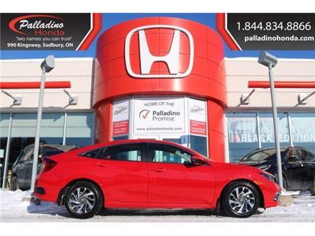 2019 Honda Civic EX (Stk: U9496) in Greater Sudbury - Image 1 of 37