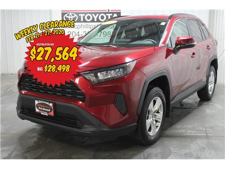 2019 Toyota RAV4 LE (Stk: F10156) in Winnipeg - Image 1 of 27