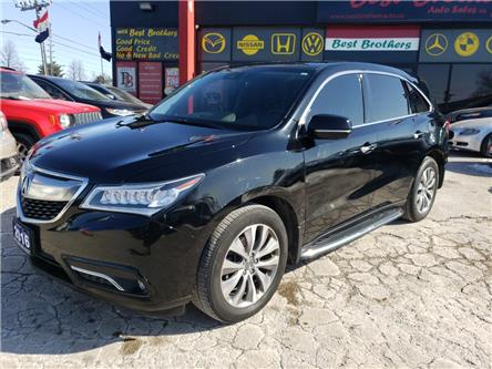 2016 Acura MDX Technology Package (Stk: 502145) in Toronto - Image 1 of 20