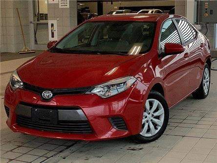 2016 Toyota Corolla LE (Stk: P19170) in Kingston - Image 1 of 12