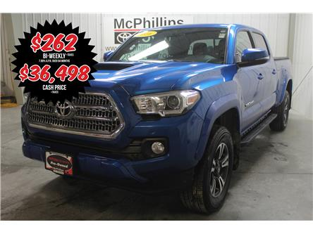 2016 Toyota Tacoma SR5 (Stk: P037144A) in Winnipeg - Image 1 of 28