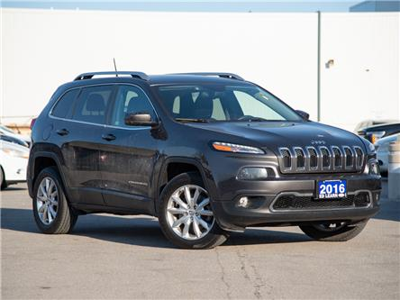 2016 Jeep Cherokee Limited (Stk: 19ED1068T) in St. Catharines - Image 1 of 21