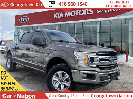 2018 Ford F-150 XLT | V6 | 4X4 |TINTS|CLEAN CARFAX|BU CAM|BEDLINER (Stk: P13101) in Georgetown - Image 1 of 29