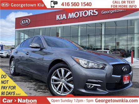 2016 Infiniti Q50 2.0t | CLEAN CARFAX | ONLY 39,479KMS|NAVI |360 CAM (Stk: P13111) in Georgetown - Image 1 of 36