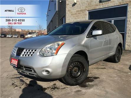 2008 Nissan Rogue S FWD STEERING WHEEL CONTROLS, TINT, ABS, CRUISE, (Stk: 46501B) in Brampton - Image 1 of 22