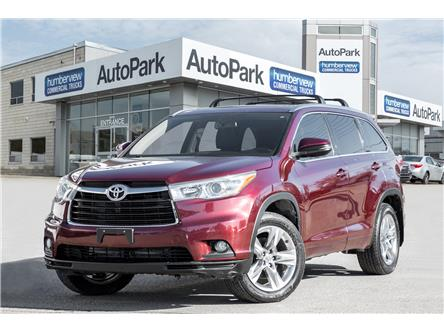2014 Toyota Highlander Limited (Stk: APR6396A) in Mississauga - Image 1 of 20