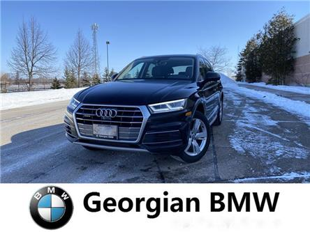 2018 Audi Q5 2.0T Technik (Stk: B20102T1) in Barrie - Image 1 of 14