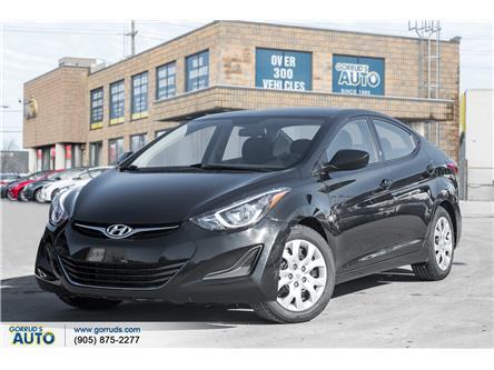 2016 Hyundai Elantra GL (Stk: 791004) in Milton - Image 1 of 16