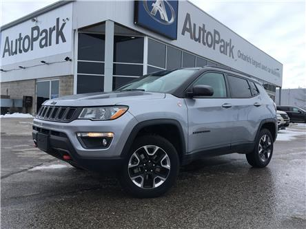 2018 Jeep Compass Trailhawk (Stk: 18-12573RJB) in Barrie - Image 1 of 29