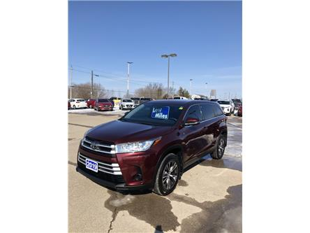 2019 Toyota Highlander LE (Stk: -) in Smiths Falls - Image 1 of 4