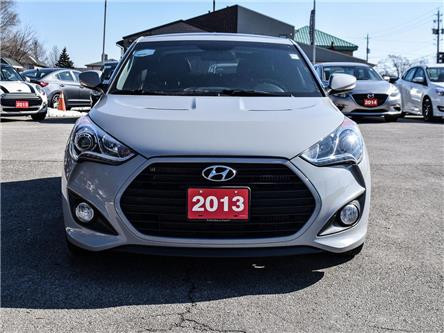 2013 Hyundai Veloster Turbo|Leather|Navi|Pano roof|Loaded (Stk: 5474) in Stoney Creek - Image 2 of 17