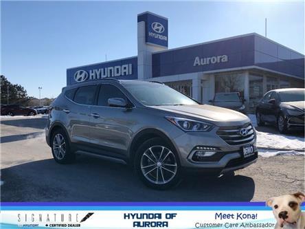 2018 Hyundai Santa Fe Sport Limited (Stk: 21360) in Aurora - Image 1 of 25