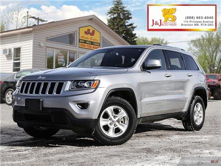 2016 Jeep Grand Cherokee Laredo (Stk: J19131-1) in Brandon - Image 1 of 27