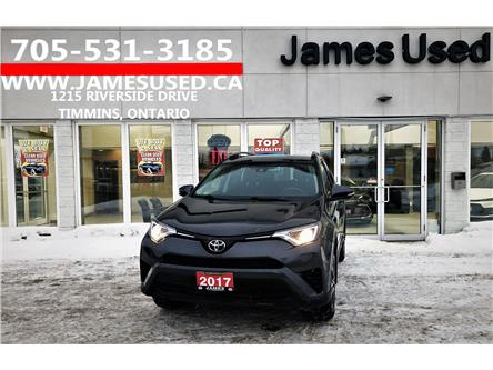 2017 Toyota RAV4 LE (Stk: P02740) in Timmins - Image 1 of 14