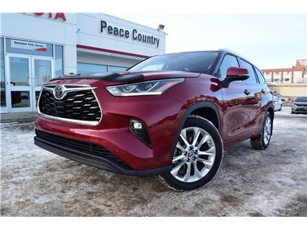 2020 Toyota Highlander Limited (Stk: 2087) in Dawson Creek - Image 1 of 14