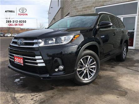 2019 Toyota Highlander HYBRID XLE LEATHER, SUNROOF, NAVI, ALLOY, FOG, BSM (Stk: 8828AB) in Brampton - Image 1 of 27