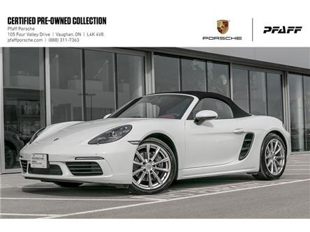 2017 Porsche 718 Boxster PDK (Stk: U8470) in Vaughan - Image 1 of 22