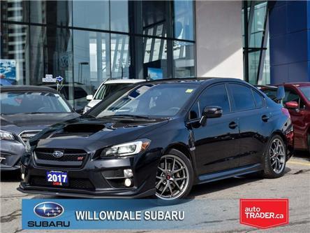 2017 Subaru WRX 4dr Sdn STI Sport-tech Man >>NO ACCIDENT<< (Stk: P3090) in Toronto - Image 1 of 29