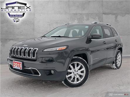 2015 Jeep Cherokee Limited (Stk: 20011) in Ottawa - Image 1 of 29