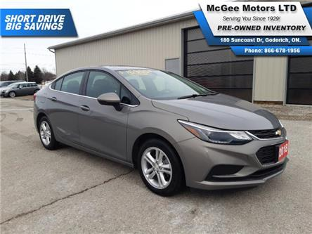 2018 Chevrolet Cruze LT Auto (Stk: A196249) in Goderich - Image 1 of 25