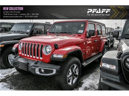 2020 Jeep Wrangler Unlimited Sahara (Stk: LC2242) in London - Image 1 of 4
