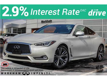 2019 Infiniti Q60 3.0t LUXE (Stk: K599) in Markham - Image 1 of 26