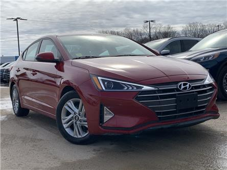 2020 Hyundai Elantra Preferred w/Sun & Safety Package (Stk: 0RC822) in Midland - Image 1 of 8