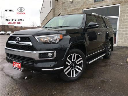 2017 Toyota 4Runner LIMITED FOG LAMPS,7 PASS, NAVI, LEATHER, SUNROOF, (Stk: 46634A) in Brampton - Image 1 of 28