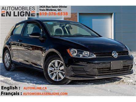 2015 Volkswagen Golf 1.8 TSI Trendline (Stk: 018988) in Trois Rivieres - Image 1 of 27
