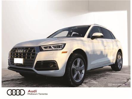 2020 Audi Q5 45 Progressiv (Stk: AU8081) in Toronto - Image 1 of 22